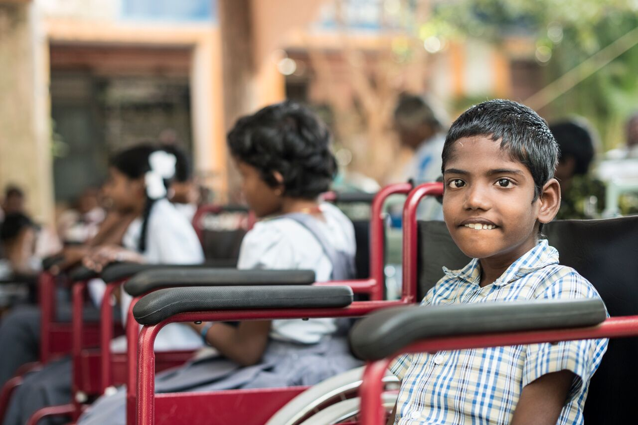 School Furniture and Therapy Equipment for Children with Disabilities