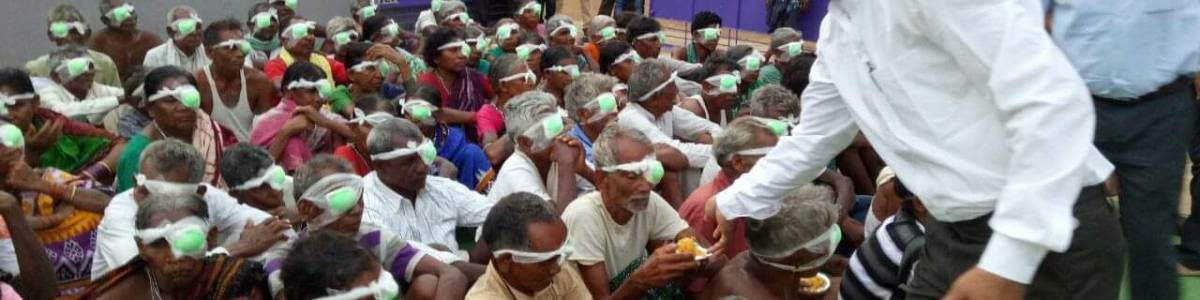 Cataract Blind-free Kalahandi District