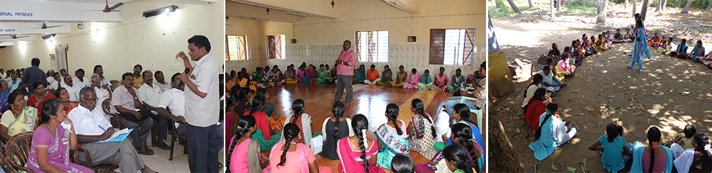 To promote Better Health Practices Among the School Going Adolescent Girls in Dindigul District ( 4 Blocks ) through awareness generation and reduction of Menstrual Hygiene related health issues with multi stakeholders' involvement