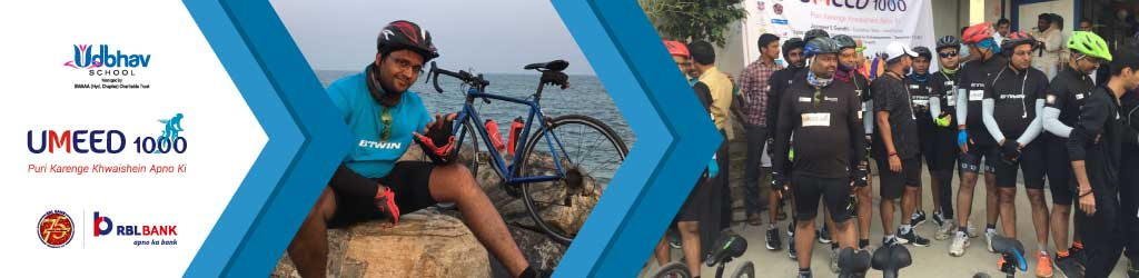 Yashodeep Cycles for Girls' Education as part of Umeed 1000 Cyclothon