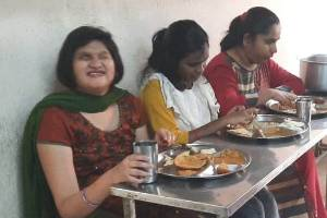 Sponsor cost of meals for a blind child or adult undergoing rehabilitation for a month