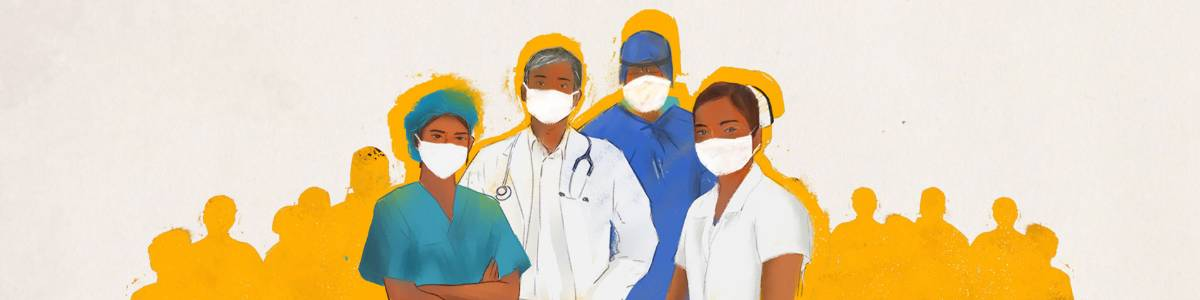 PPE kits for our healthcare workers