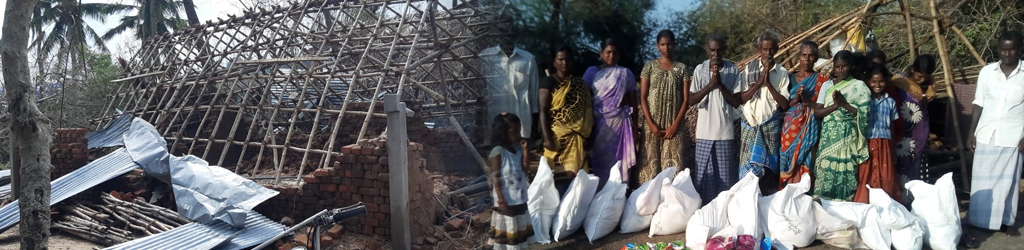 Gaja Cyclone Victims - Need Immediate Rehabilitation Help