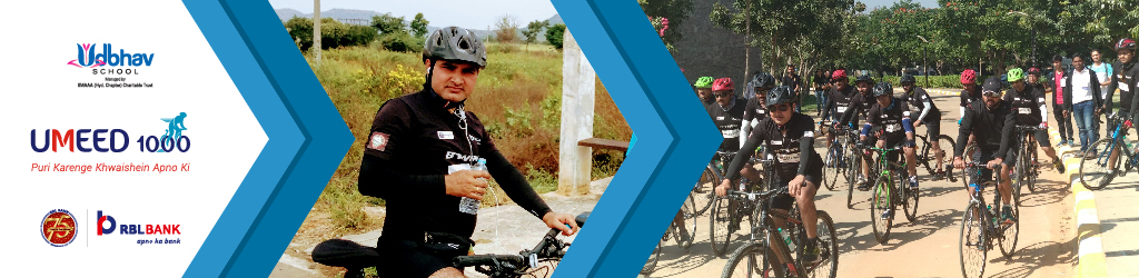Balkrishan Cycles for Girls' Education as part of Umeed 1000 Cyclothon