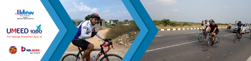 Vishal Cycles for Girls' Education as part of Umeed 1000 Cyclothon