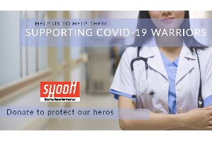 Supporting COVID-19 Warriors