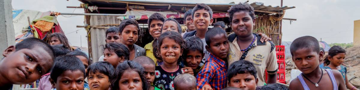 Education support for the poor children from the slums and settlement areas of Bangalore city