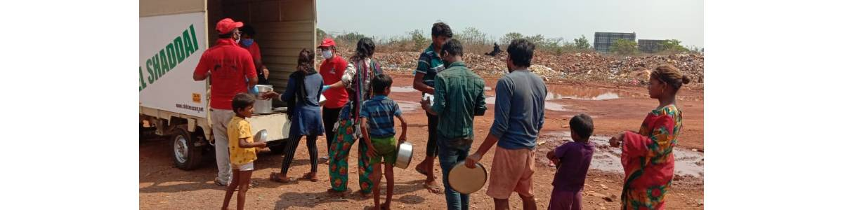 Help us feed 1000 poor migrants & labourers during this COVID crisis