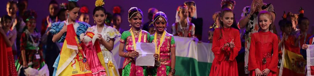 Support team India at the Dance World Cup Finals in Portugal