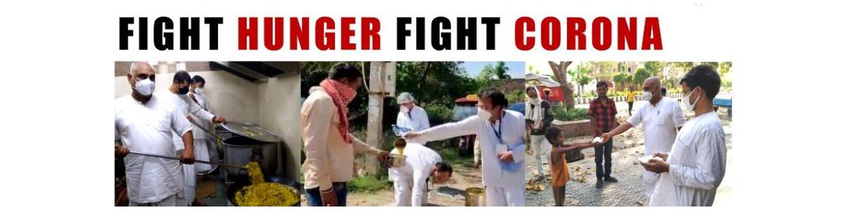 FIGHT CORONA - FREE HYGIENIC FOOD FOR VILLAGERS