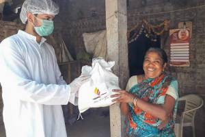 Coronavirus (COVID-19) relief activities by Shrimad Rajchandra Love and Care