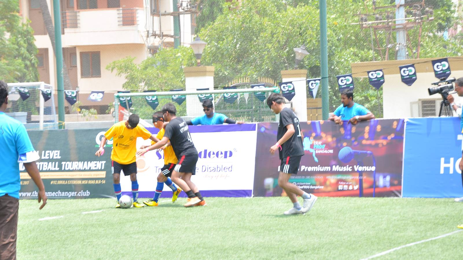 All India Blind football tournment organised by snehadeep