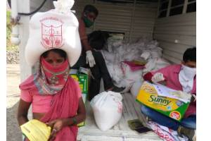 Healthcare and Nutrition Security for Rural and Tribal People of Ahmednagar district Maharashtra, India during COVID–19 Pandemic