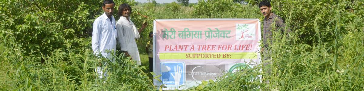 PLANT A TREE FOR LIFE