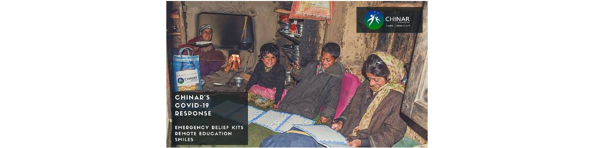 CHINAR's COVID Response in J&K - Providing emergency relief and remote education
