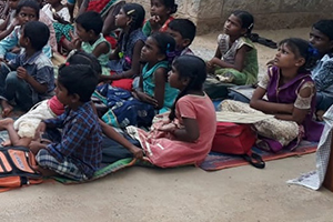 Education and stationery support for poor children