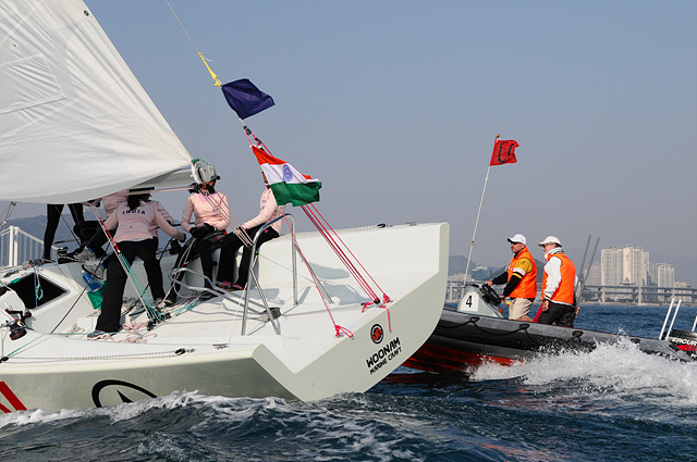 Support the Indian Womens' Yachting Team