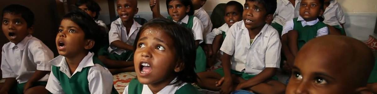 Educate a School Dropout from Slums.