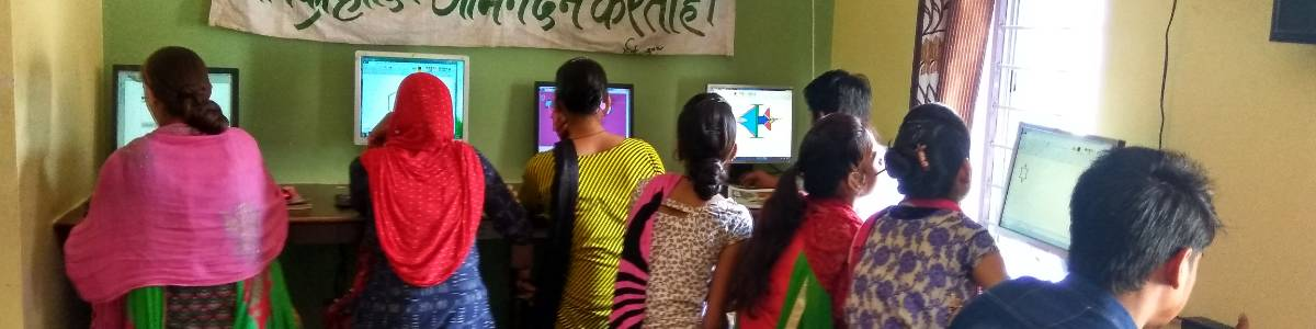 Computer Literacy for Rural Women Project with RSCIT Degree