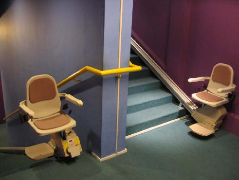 Stair-Lift for Shelter for Women with Disabilities