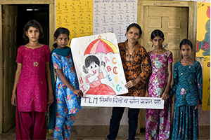 Education and Empowerment of marginalised adolescent girls in rural Rajasthan