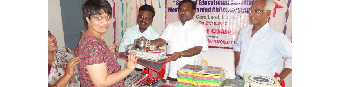 Donate for Educational Material to Disadvantaged Children/Students with Special Needs