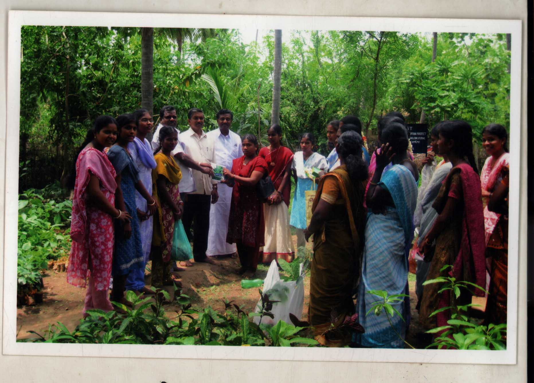 Distribute Fruit & Timber Plants in the Gaja Cyclone Affected Villages
