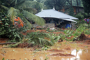 Emergency relief grant to 150 flood affected families of Panthamthitta District In Kerala