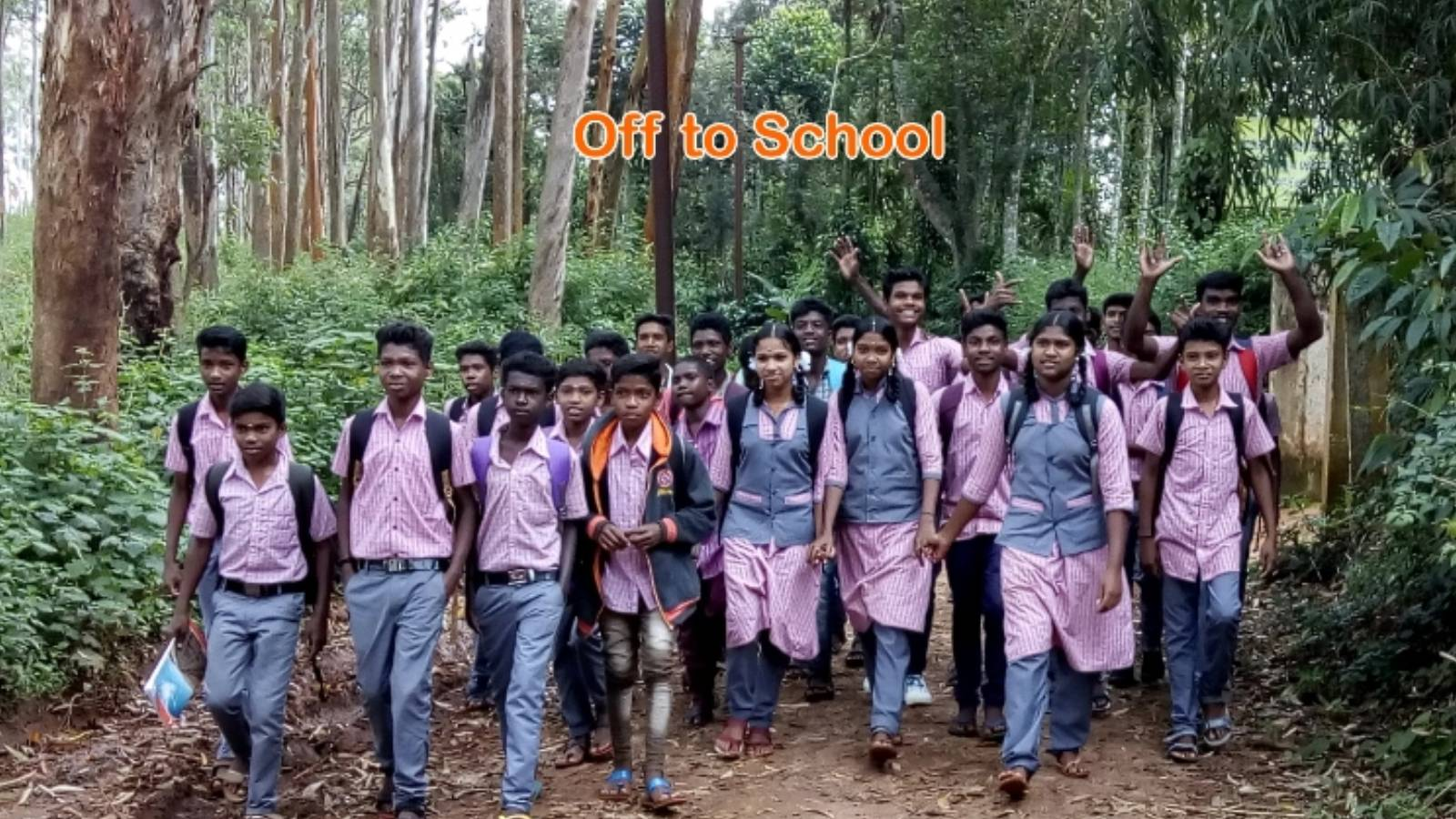 Students off to School