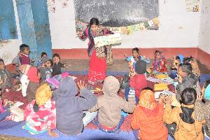 Building Community Edu-leaders to improve education of children in Extremism Affected Regions in Bihar