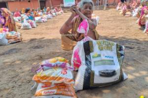 Distribution of Dry Ration and Essential Kit to Poor and Vulnerable Communities during COVID 19 Lockdown
