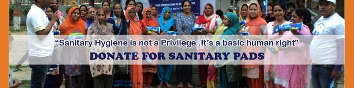 Sakha – Free Distribution of Sanitary Napkins kit