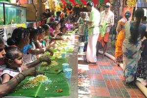 Free old age home for destitute elders and Food for needy
