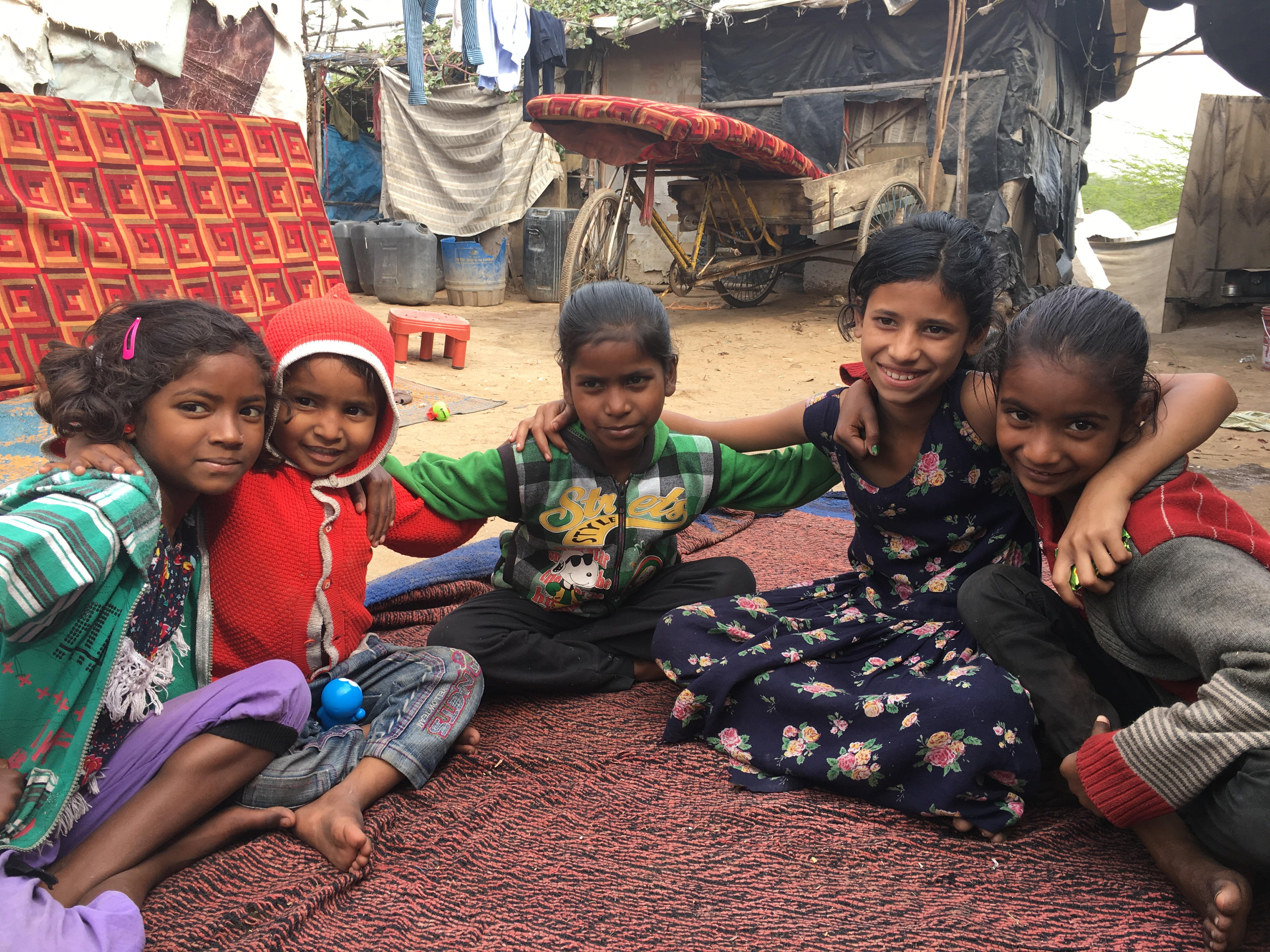Help Children Study living in the shadow of Delhi's Mountain of Trash