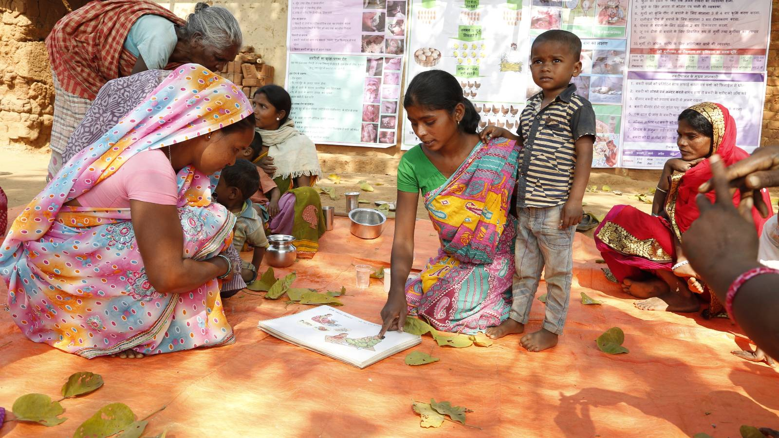 Women SHGs to tackle health issues by growing nutritive crops and consuming holistically nourishing food, while ensuring sanitation and hygiene