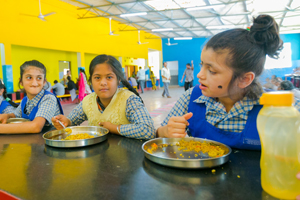 Meal for children and nutrition for their growth