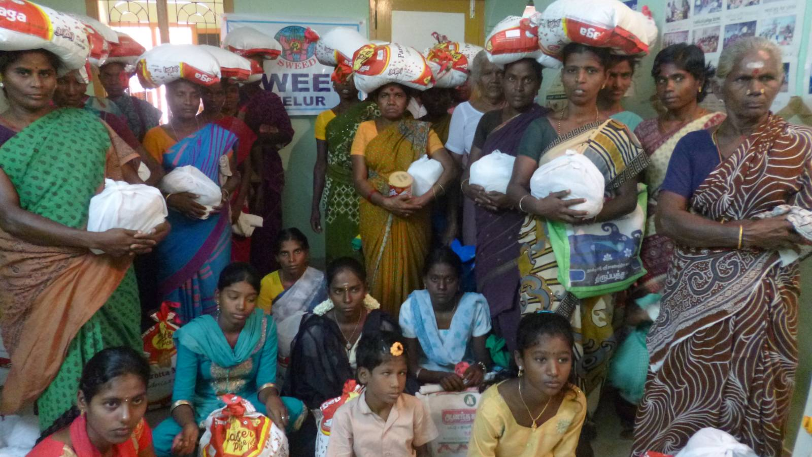 Monthly Rice support for infected people