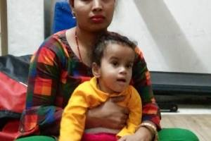 Help 1.5-Year-Old Aayushi To Stand Without Support