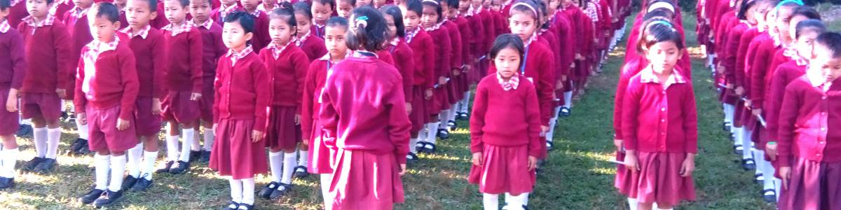 Ratanmani Vidyalay-Residential School for Tribal Children in remote hilly area of Tripura.