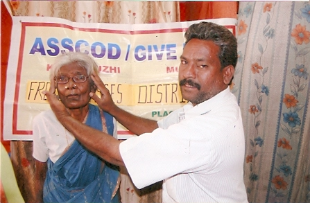 Conducting Eye Screening Camps to Provide Eye Care Services to Poor People from Oppressed Communities in Kancheepuram District