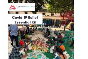 COVID-19 Relief through Essential Dry Ration Kits