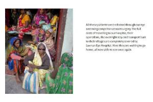 cure- curable blindness in rural bihar