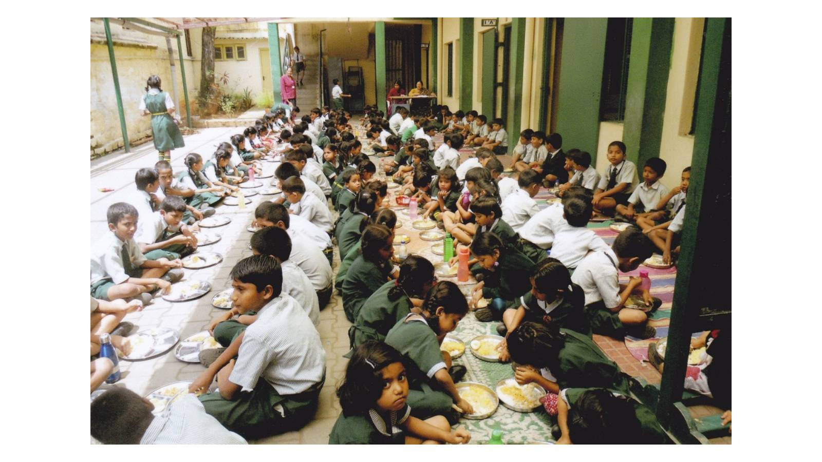 The Colonel Hill  High School: The school started with Nursery and Kindergarten classes and has now classes up to Std X. The noon meal is given to all the students on each working day by Maria Seva Sangha.
