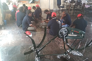 Dignified life for the Differently-Abled by starting a Cycle Repair Shop