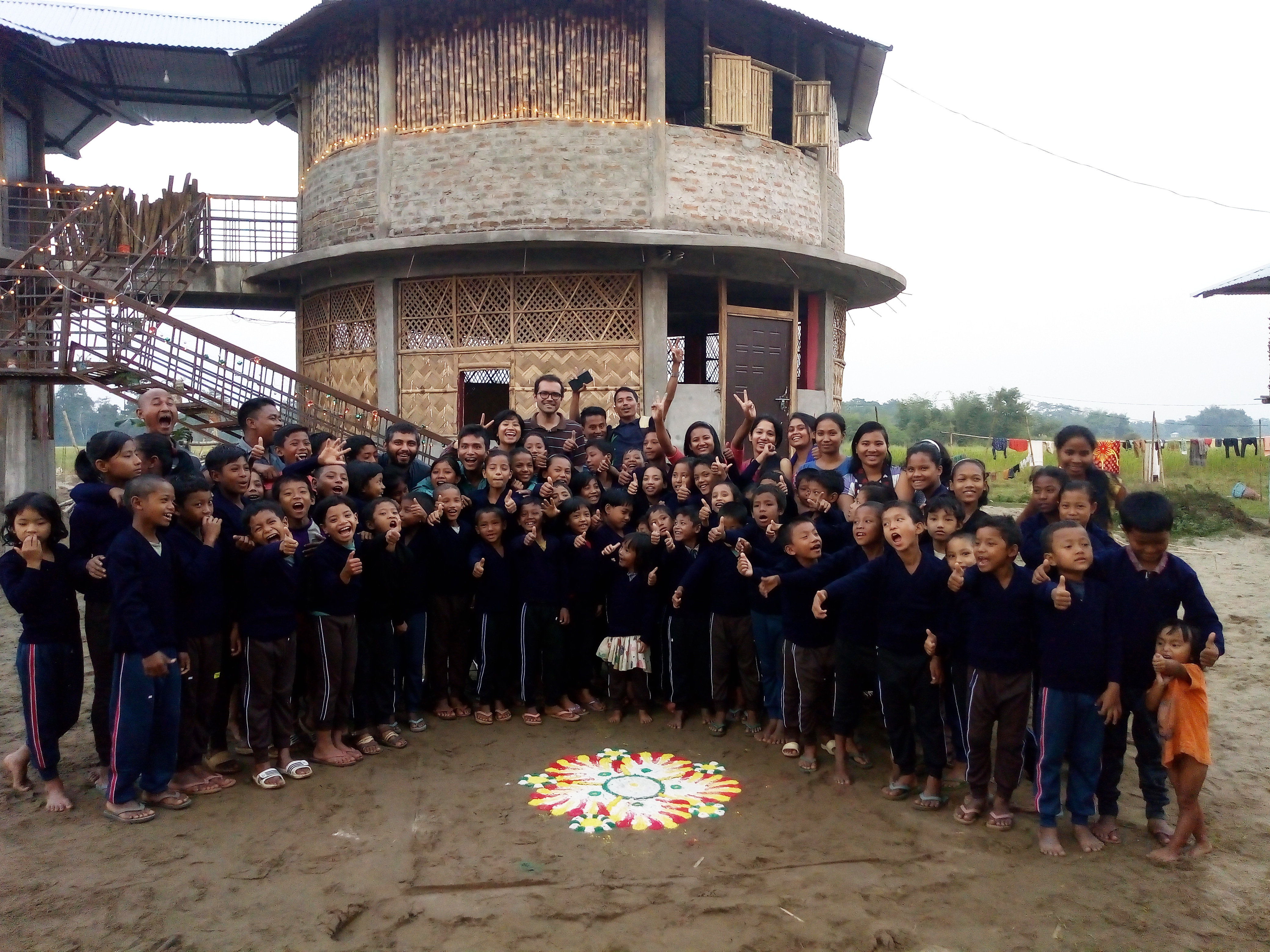 Support the education of 250 tribal children in the flood affected Majuli Island of Assam