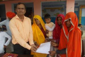 Operation against of human poverty and women inequality in Rajasthan.