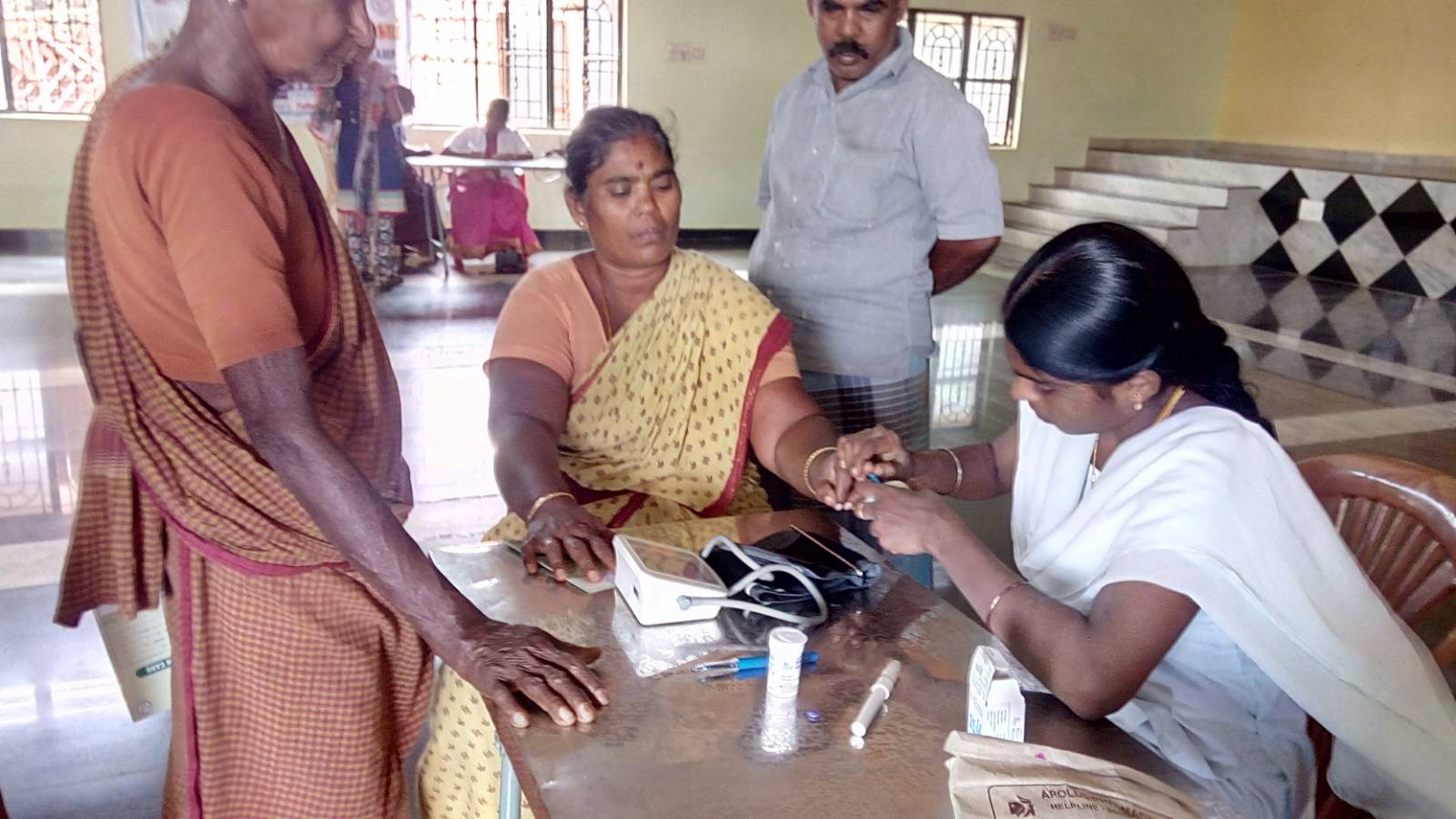 Free Medical Check up camp conducted by SWEED