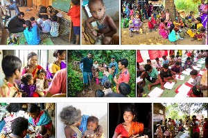 Support vulnerable tribal children from remote villages to improve their health nutrition status and education.