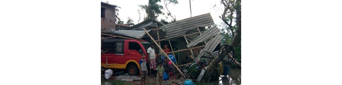 MANABIK: Humanitarian support for AMPHAN affected people of Coastal area of Purba Medinipur