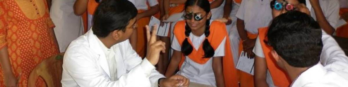 Health Awareness on Eye Sight Project